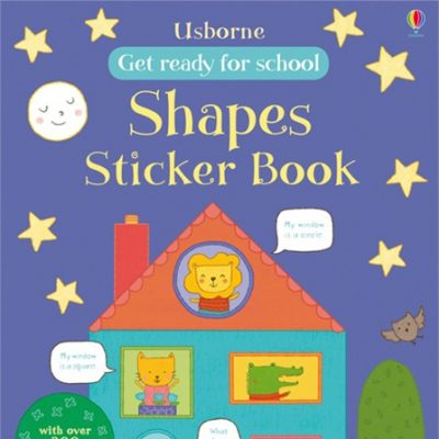 Shapes Sticker Book (Get ready for school)