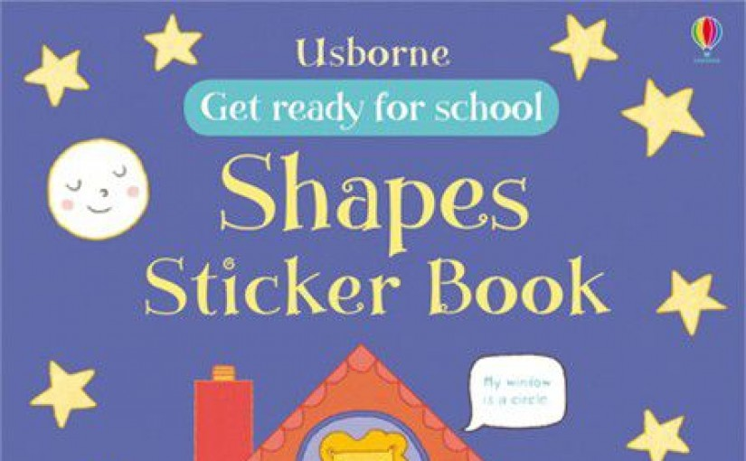 Shapes Sticker Book