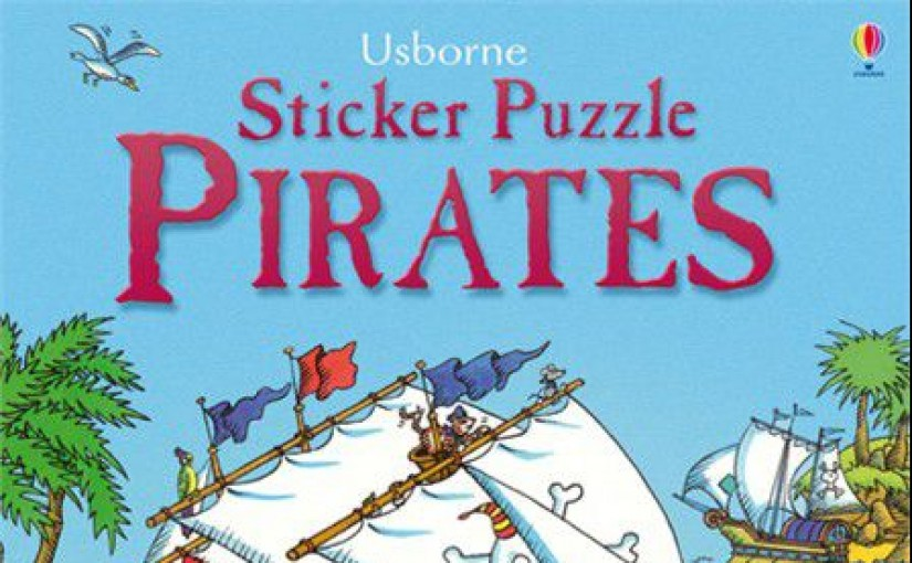Sticker Puzzle Pirates