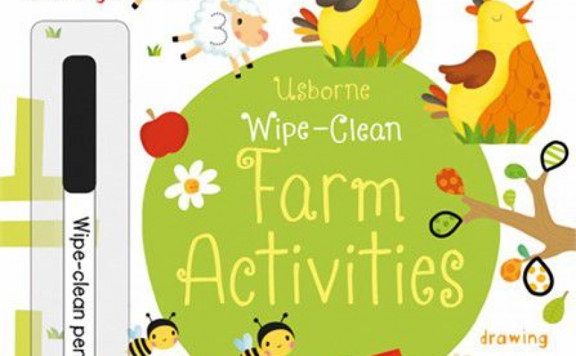 Wipe Clean Farm Activities - Cover