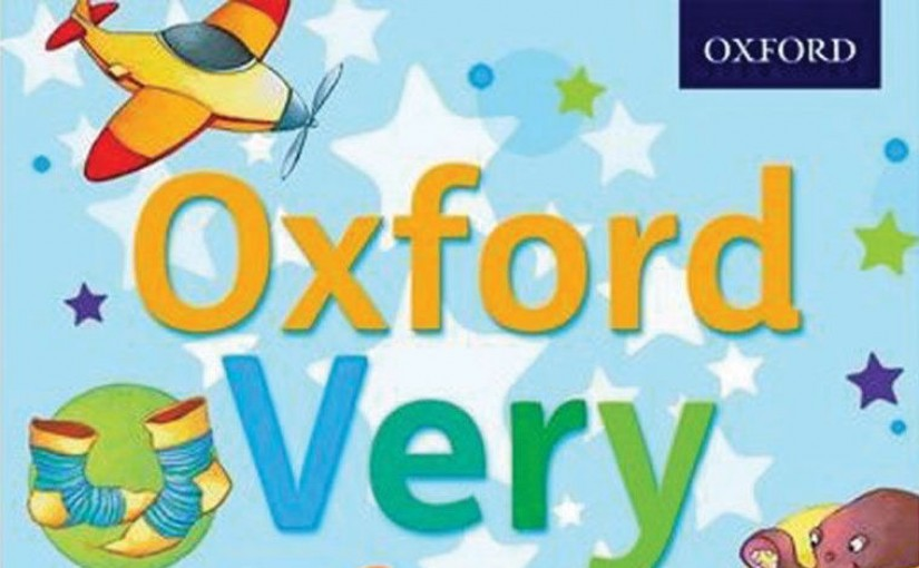 Oxford Very First Dictionary - Cover