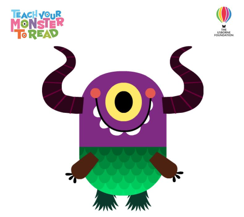 Teach Your Monster To Read - Cover