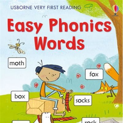 Easy Phonics Words – Usborne Very First Reading